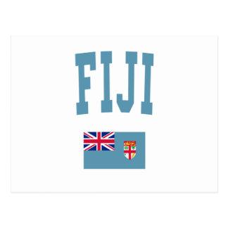 Fiji College Style Postcard