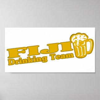 Fiji Drinking Team Poster