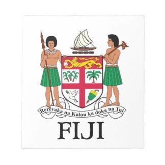 FIJI - emblem flag coat of arms symbol Memo Pads