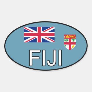 Fiji Euro Sticker