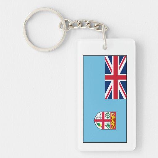 Fiji – Fijian Flag Acrylic Key Chain