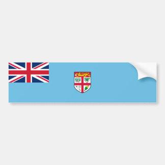 Fiji/Fijian Flag Bumper Sticker
