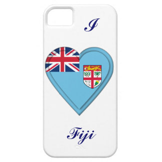 Fiji Fijian flag iPhone SE/5/5s Case