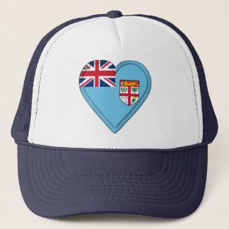 Fiji Fijian flag Trucker Hat
