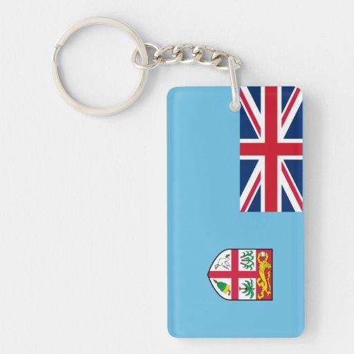 Fiji – Fijian National Flag Rectangle Acrylic Keychain