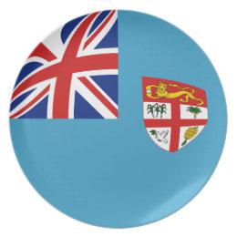 Fiji Fisheye Flag Plate