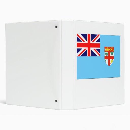 Fiji Flag 3 Ring Binders