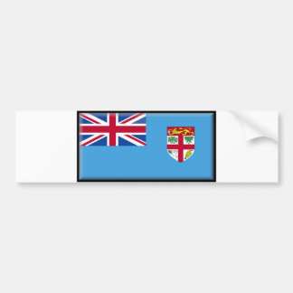 Fiji Flag Bumper Sticker