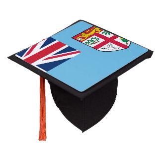 Fiji Flag Graduation Cap Topper