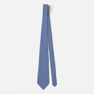 Fiji Flag Honeycomb Tie