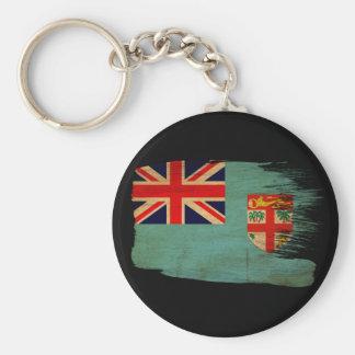Fiji Flag Keychain