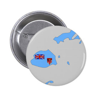Fiji flag map button