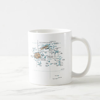Fiji Flag ~ Map Mug