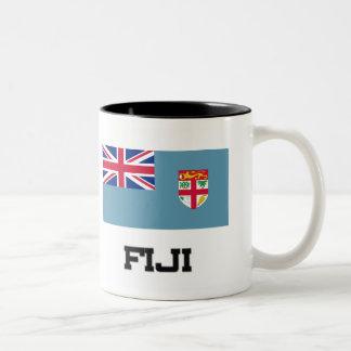 Fiji Flag Coffee Mugs