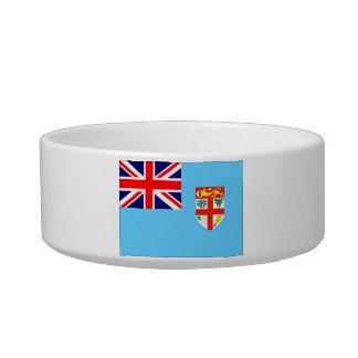 Fiji Flag Cat Bowls