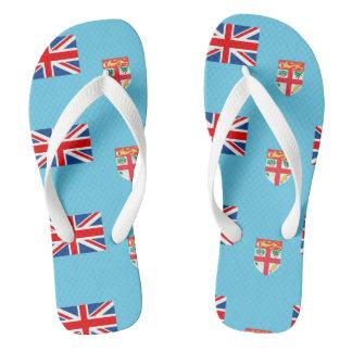 Fiji Flag --.png Flip Flops