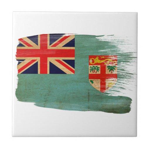Fiji Flag Tiles