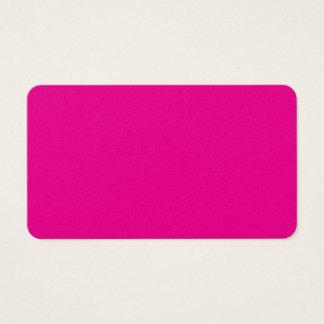 Fiji Fuchsia-Purple-Pink Magenta Tropical Romance Business Card