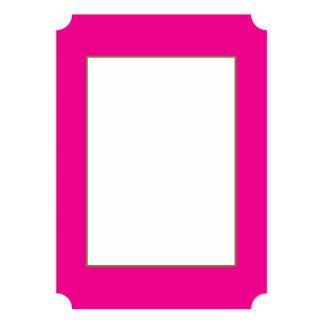 Fiji Fuchsia-Purple-Pink Magenta Tropical Romance Card