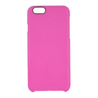 Fiji Fuchsia-Purple-Pink Magenta Tropical Romance Clear iPhone 6/6S Case