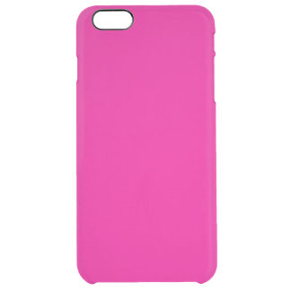Fiji Fuchsia-Purple-Pink Magenta Tropical Romance Clear iPhone 6 Plus Case