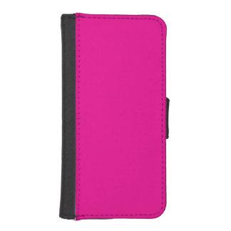 Fiji Fuchsia-Purple-Pink Magenta Tropical Romance iPhone SE/5/5s Wallet Case