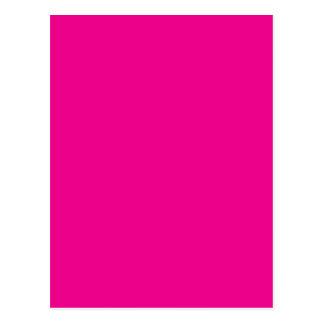 Fiji Fuchsia-Purple-Pink Magenta Tropical Romance Postcard