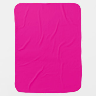 Fiji Fuchsia-Purple-Pink Magenta Tropical Romance Receiving Blanket