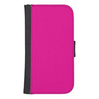 Fiji Fuchsia-Purple-Pink Magenta Tropical Romance Samsung S4 Wallet Case