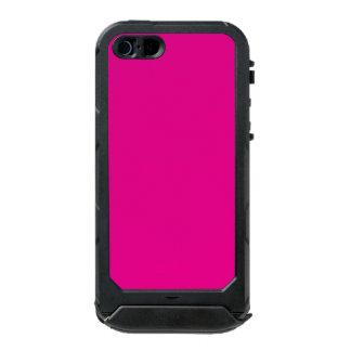 Fiji Fuchsia-Purple-Pink Magenta Tropical Romance Waterproof Case For iPhone SE/5/5s