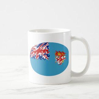 Fiji Gnarly Flag Mug