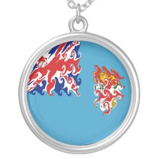 Fiji Gnarly Flag Necklaces
