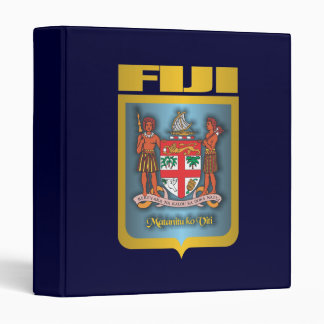 Fiji Gold 3 Ring Binder