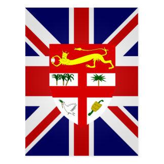 Fiji High quality Flag Postcard