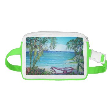 Beach Themed Fiji Island, Fanny Packs Waist Bag