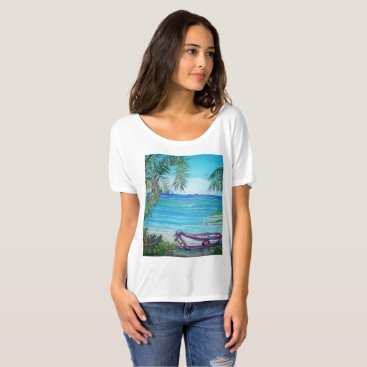 Beach Themed Fiji Island, T-Shirt