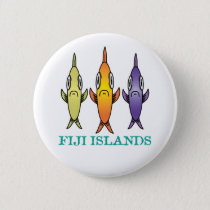 Fiji Islands 3-Fishes Button