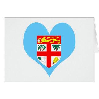Fiji Islands Card