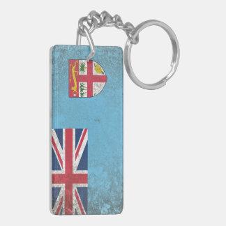 Fiji Rectangular Acrylic Keychains