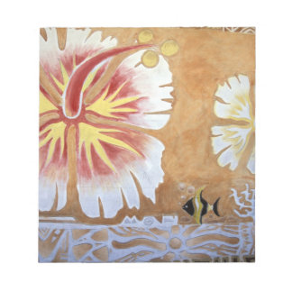 Fiji, mural art. notepad