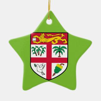 Fiji Ceramic Star Decoration