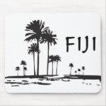 Fiji - palmeras gráficas tapete de ratón
