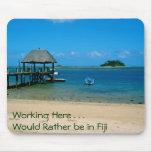 Fiji - paraíso encontrado en la isla de Malolo Tapete De Raton