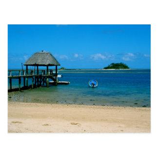 Fiji - paraíso encontrado en la isla de Malolo Postal
