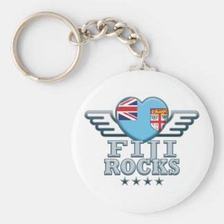 Fiji Rocks v2 Key Chain