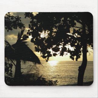 Fiji Sunset Mouse Pad
