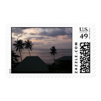 Fiji Sunset Postage