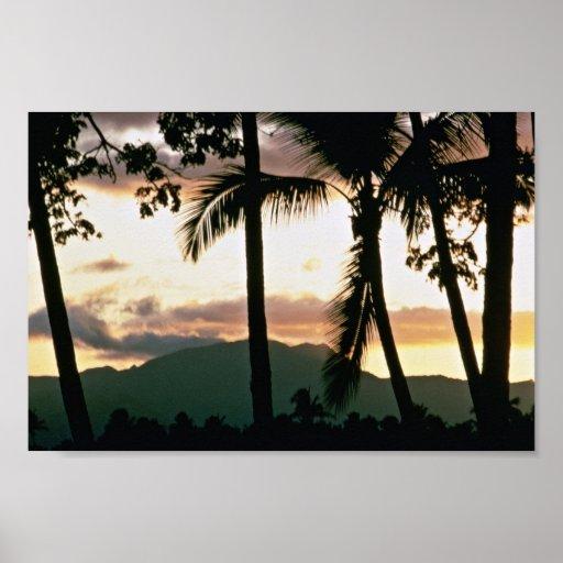 FiJi Sunset Posters