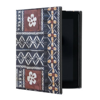 Fiji Tapa Cloth Print iPad Case