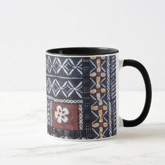 Fiji Tapa Cloth Print Mug